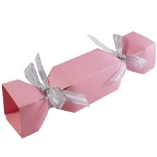 Light Pink Cracker Designer Favour Boxes